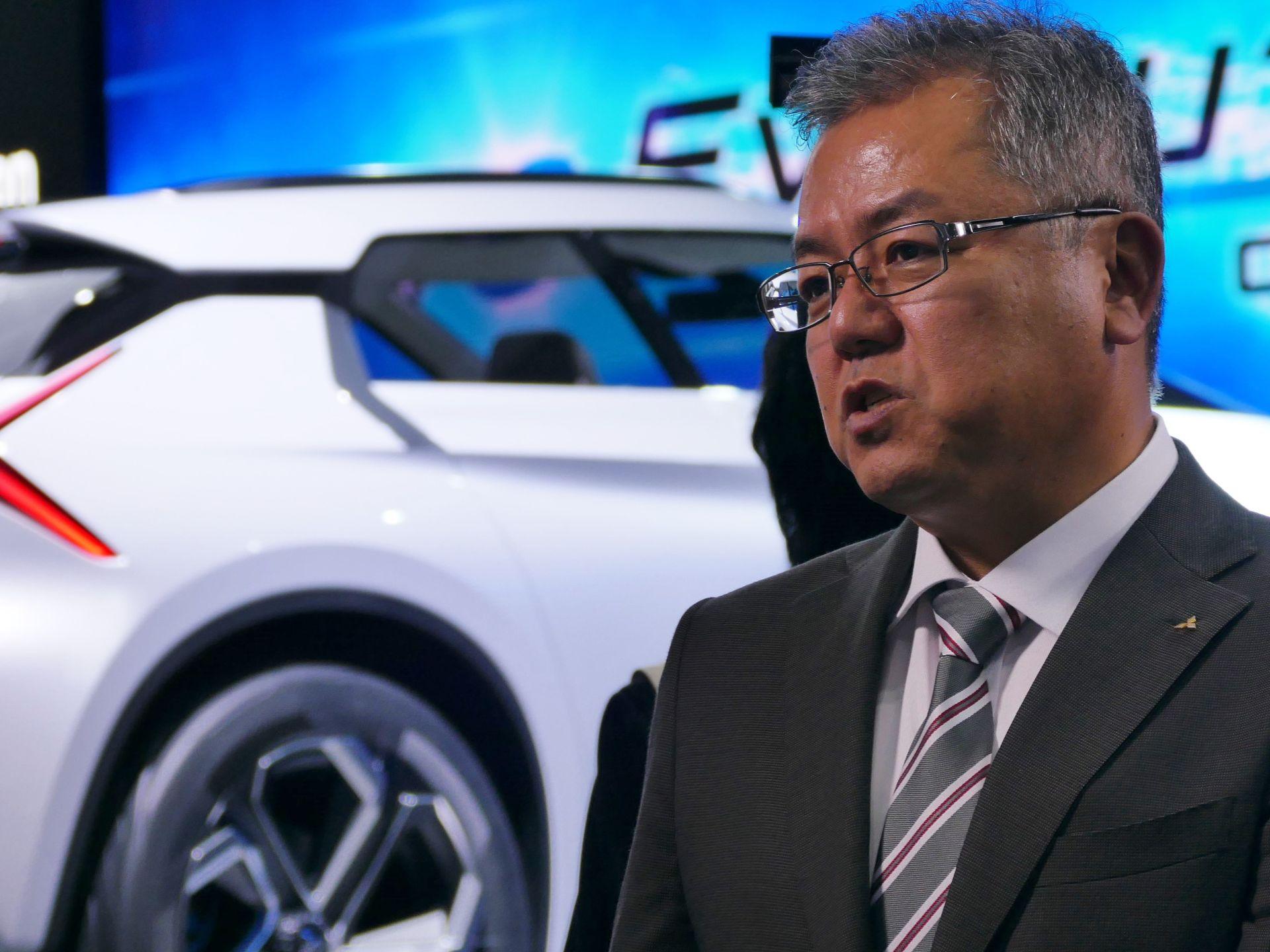 三菱自動車 EV・パワートレイン技術開発本部チーフテクノロジーエンジニア 百瀬信夫氏