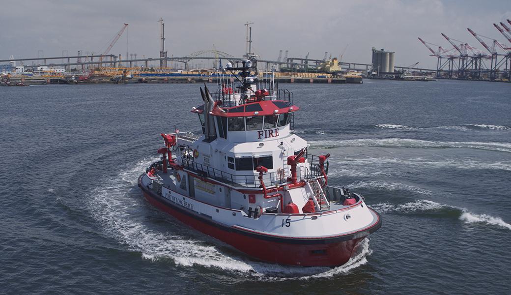 世界最大級の消防艇、その驚きの性能とは – Discovery Channel Japan ...
