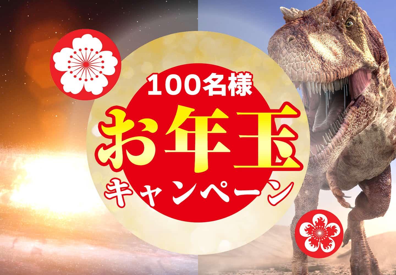 100名様お年玉キャンペーン
